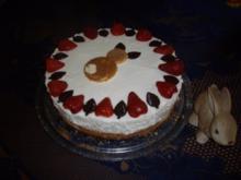erdbeer-käse-sahnetorte - Rezept