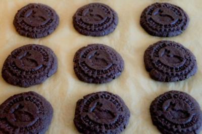 Rezept: Schokoladen Kekse , gestempelt
