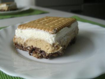 Crunchy-Erdnuss-Schnitten - Rezept