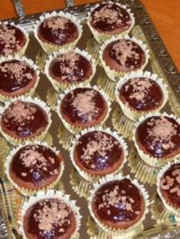 Muffins mit Schokoguss - Rezept