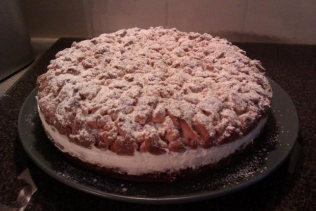 Streuselkuchen gefüllt, oder Torte?! Hmmm.. :-) - Rezept - Bild Nr. 3