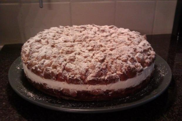 Streuselkuchen gefüllt, oder Torte?! Hmmm.. :-) - Rezept - Bild Nr. 5