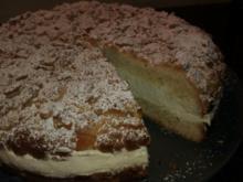 Streuselkuchen gefüllt, oder Torte?! Hmmm.. :-) - Rezept