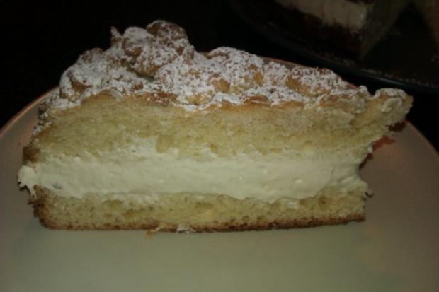 Streuselkuchen gefüllt, oder Torte?! Hmmm.. :-) - Rezept - Bild Nr. 4
