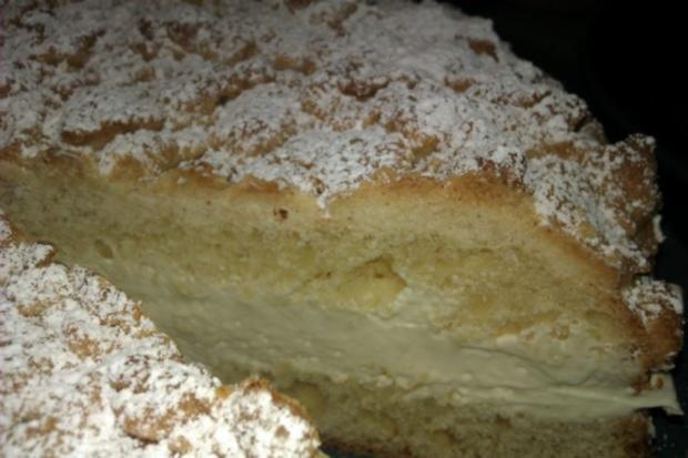 Streuselkuchen gefüllt, oder Torte?! Hmmm.. :-) - Rezept - Bild Nr. 6