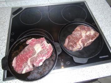 Ribeye Steak rückwärts - Rezept