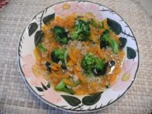 Vegan : Ein heißes schnelles Süppchen zum 2. Frühstück - Rezept