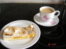 Mandarinen-Käsekuchen mit Baiserhaube - Rezept