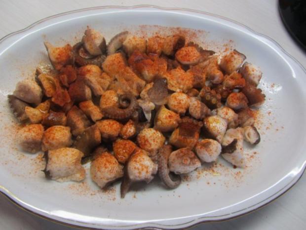 Pulpo a la Gallega - Tintenfisch nach galizischer Art - Rezept