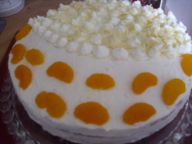 Mandarin-Orangen Torte - Rezept - Bild Nr. 9