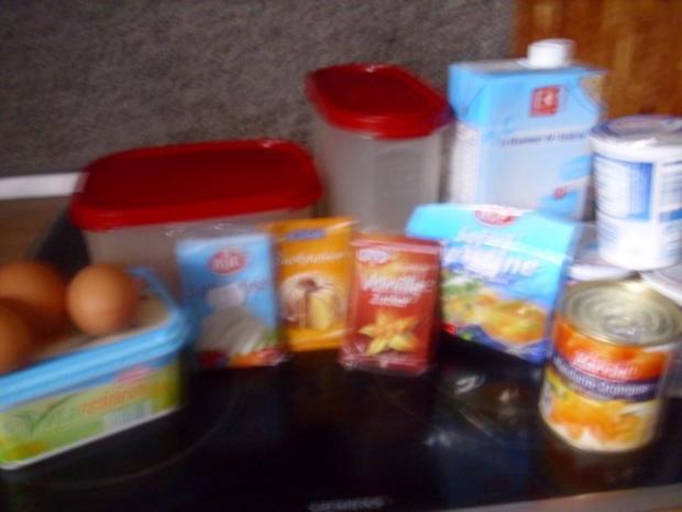 Mandarin-Orangen Torte - Rezept - Bild Nr. 2