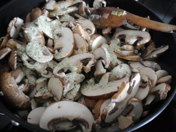 Beilage : Porree - Spinat - Champignons - Rezept - Bild Nr. 9
