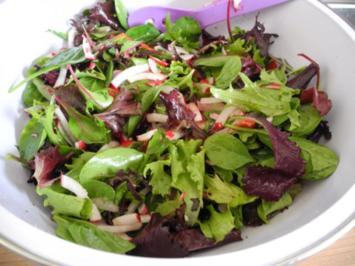 Salat : ...bunt und gesund... - Rezept