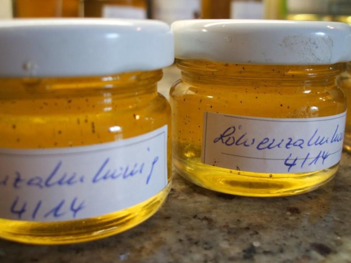 Vorrat: Löwenzahnhonig - Rezept Durch lunapiena