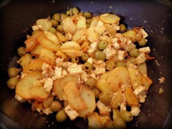 Griechische Bratkartoffel - Rezept
