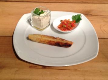 Mit Ratatouille gefüllte Briouats mit Joghurtdip und Marokkanischem Salat - Rezept
