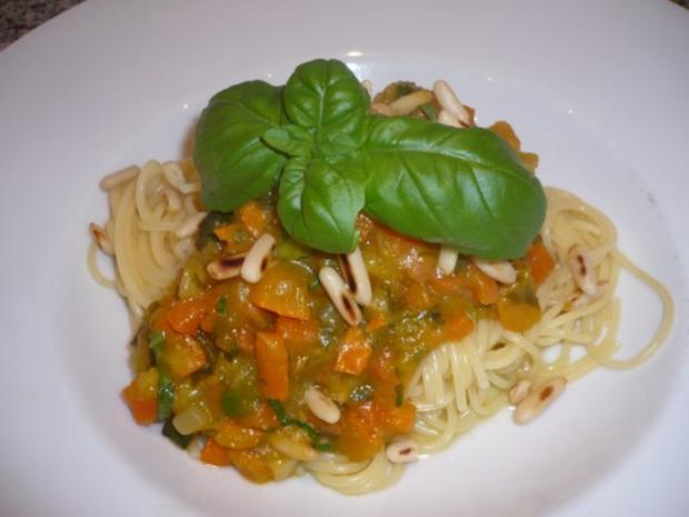 Bolognese vegetarisch - Rezept - Bild Nr. 9