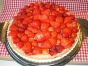 Erdbeer- Philadelphia -Torte - Rezept