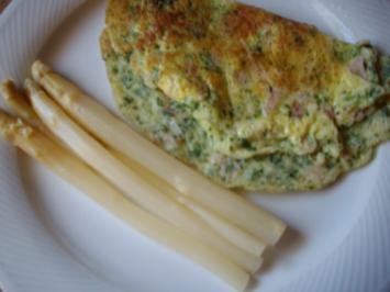 petersilien-schinken-omelett - Rezept