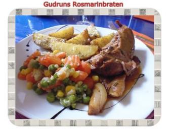 Geflügel: Rosmarinputenbraten - Rezept