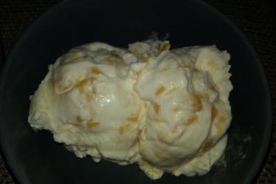 Pfirsich-Joghurt-Eis - Rezept