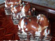 Schaum Oreo Oblaten - Rezept