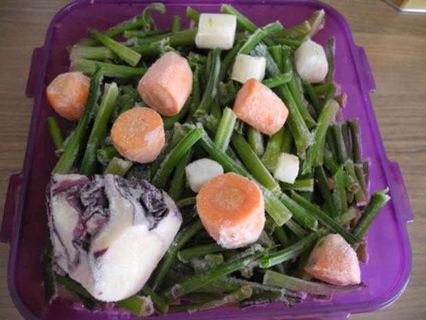 Vorräte : Gemüse - Mix - Salz - Rezept - Bild Nr. 8