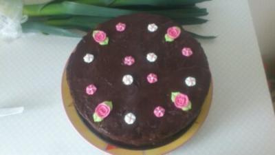 eine super verführerische torte ohne backen  - Rezept