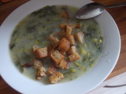 Suppe - Bärlauchsüppchen de luxe - Rezept