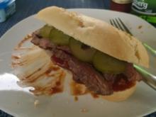 Flank Steak Baguette - Rezept