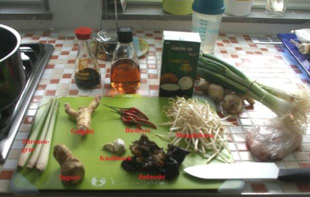 Tom Yum Gung oder Gai - Rezept