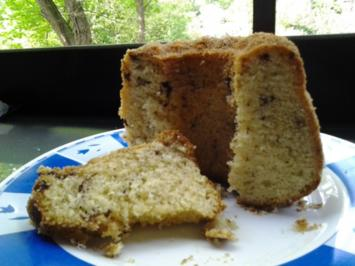 Kuchen/Torte...MINI Schokosplit-Zitronen-Gugelhupf - Rezept
