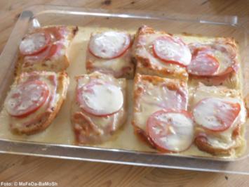 Schinken-Käse-Auflauf - Rezept