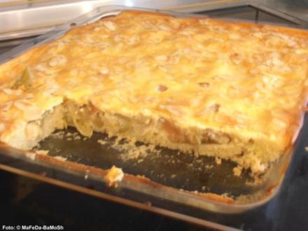 Rhabarberkuchen mit Mandeln - Rezept