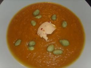 Scharfe Möhrensuppe - Rezept