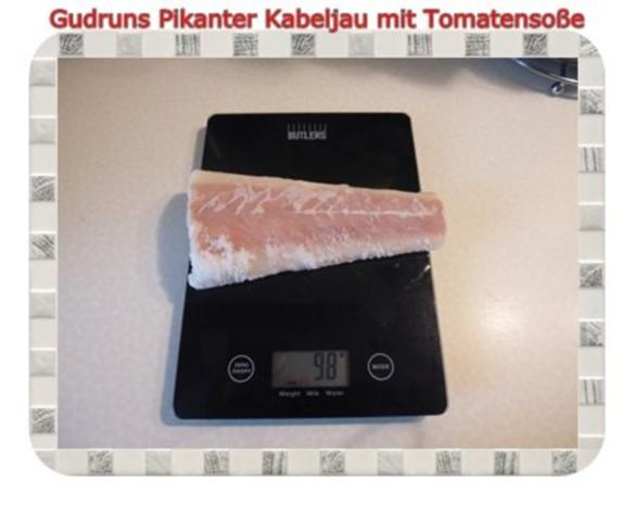 Fisch: Pikanter Kabeljau mit Tomatensoße im Asiastil und Wildreismischung - Rezept - Bild Nr. 2