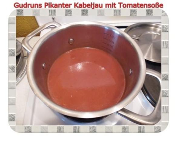 Fisch: Pikanter Kabeljau mit Tomatensoße im Asiastil und Wildreismischung - Rezept - Bild Nr. 5