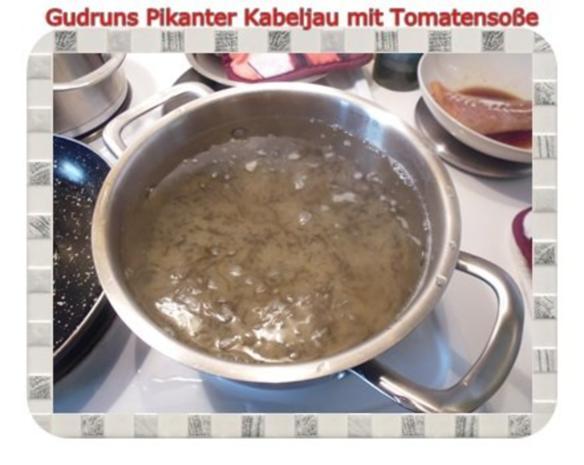 Fisch: Pikanter Kabeljau mit Tomatensoße im Asiastil und Wildreismischung - Rezept - Bild Nr. 6