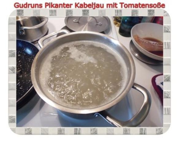 Fisch: Pikanter Kabeljau mit Tomatensoße im Asiastil und Wildreismischung - Rezept - Bild Nr. 7