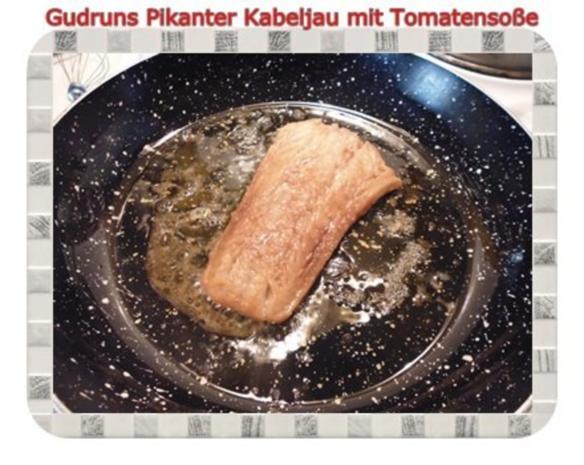Fisch: Pikanter Kabeljau mit Tomatensoße im Asiastil und Wildreismischung - Rezept - Bild Nr. 9