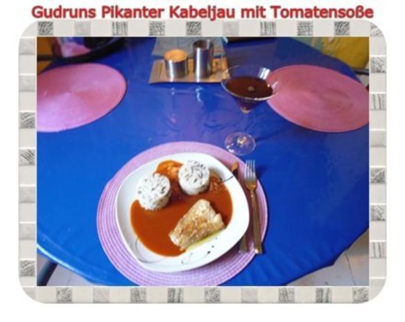Fisch: Pikanter Kabeljau mit Tomatensoße im Asiastil und Wildreismischung - Rezept - Bild Nr. 11