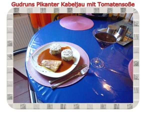 Fisch: Pikanter Kabeljau mit Tomatensoße im Asiastil und Wildreismischung - Rezept - Bild Nr. 12