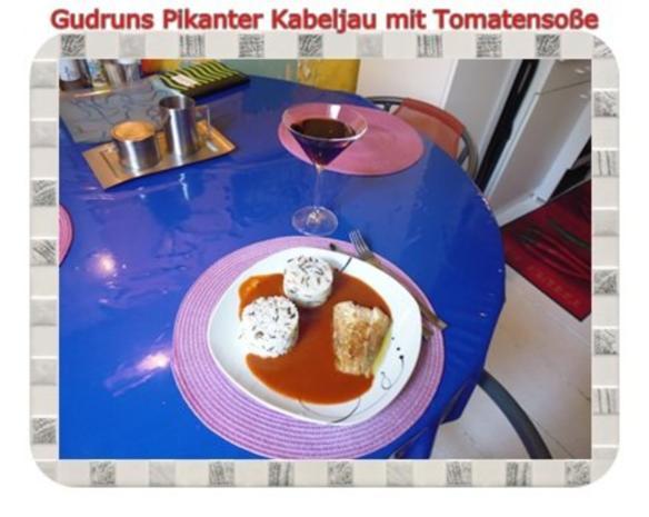 Fisch: Pikanter Kabeljau mit Tomatensoße im Asiastil und Wildreismischung - Rezept - Bild Nr. 13