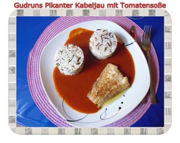 Fisch: Pikanter Kabeljau mit Tomatensoße im Asiastil und Wildreismischung - Rezept - Bild Nr. 14