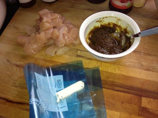 Satay Marinade für 400 - 500 Gramm Fleisch oder Tofu - Rezept - Bild Nr. 2