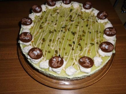 Waldmeister-Oster-Torte>> - Rezept