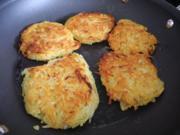 Vegan : Kartoffelpuffer / Reibekuchen - Rezept