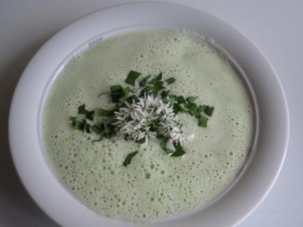 Spargel Bärlauch Suppe - Rezept