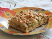 Kokos-Rhabarber-Kuchen - Rezept