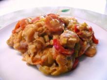 Hähnchen Reis Curry Pfanne - Rezept